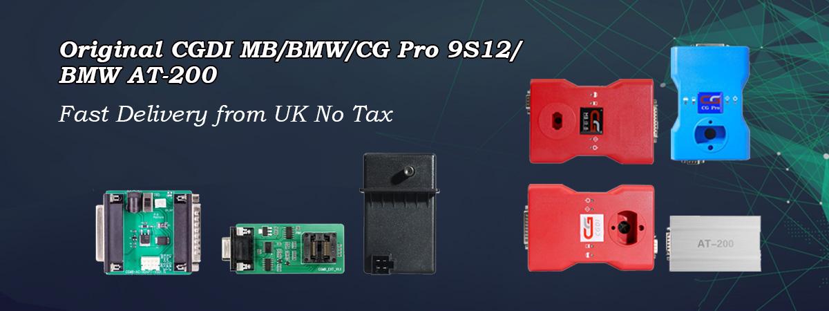 CGDI Prog BMW MSV80 Car Key Programmer UK Ship