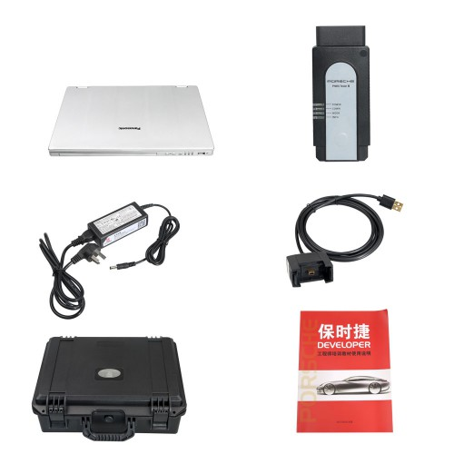 Piwis 3 Tester III Diagnostic Tool for Porsche V38.200.040 PT3G with 240G SSD and Panasonic CFAX3 Laptop