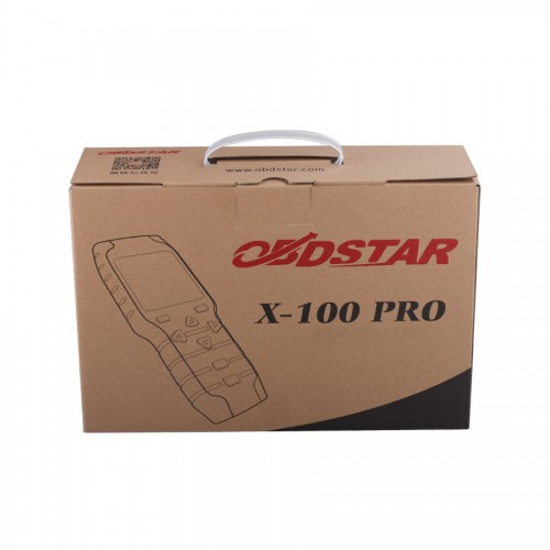 (10th Anni Sales)OBDSTAR X-100 X100 PRO Auto Key Programmer (C+D+E) Type for IMMO+Odometer+OBD Software with Free EEPROM Adapter