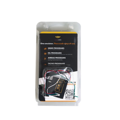 Julie Universal Car Emulator for Immobilizer ECU Airbag Dashboard