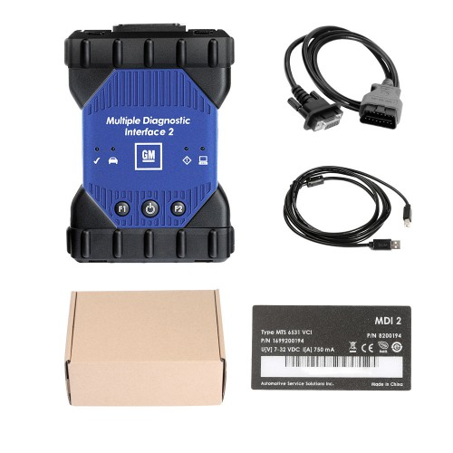[Flash Sales](UK Ship NoTax)Wifi Version GM MDI 2 Diagnostic Tool Multiple Diagnostic Interface