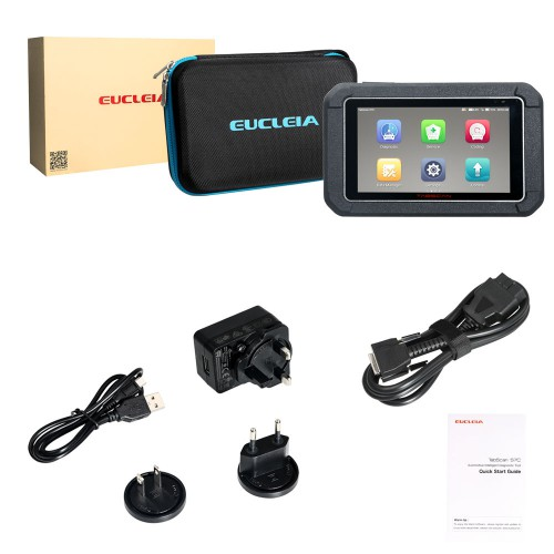 Original EUCLEIA TabScan S7C Automotive Intelligent Dual-mode Diagnostic System ABS+EPB+CVT+TMPS Reset +Oil Service Reset