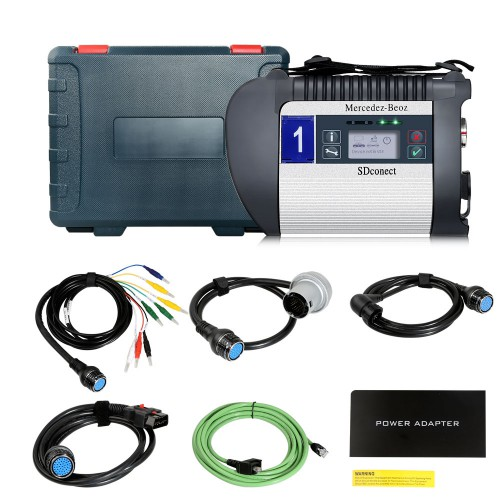 (UK Ship)DOIP SD C4 Plus MB Star Mercedes Benz Ethernet Communication Diagnostic Tool