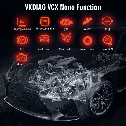(UK Ship NoTax)VXDIAG VCX NANO IDS IDS V114 OEM Diagnostic Tool for Ford Mazda