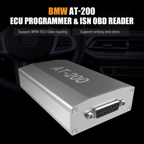 [11.11 Sales](UK Ship No Tax)CGDI BMW AT-200 V1.3.1 ECU Programmer & ISN OBD Reader Support MSV90 MSD85 MSD87 N2055 B38 B48