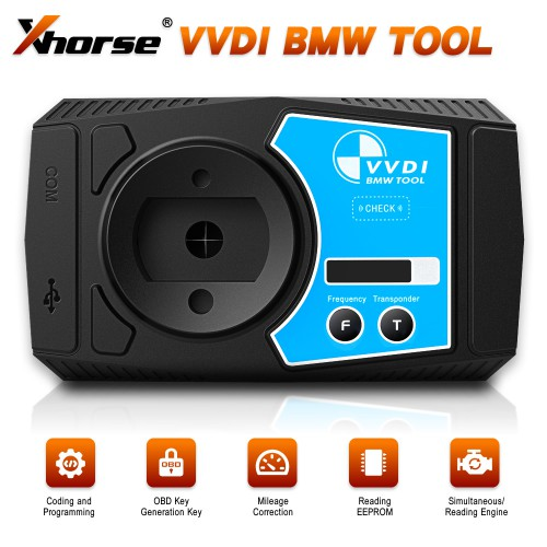 (7% Off €860)V1.5.0 XHORSE VVDI BMW Mileage Correction Coding and Programming Tool Support E/F/G Series Coding Powerful than VVDI2 BMW