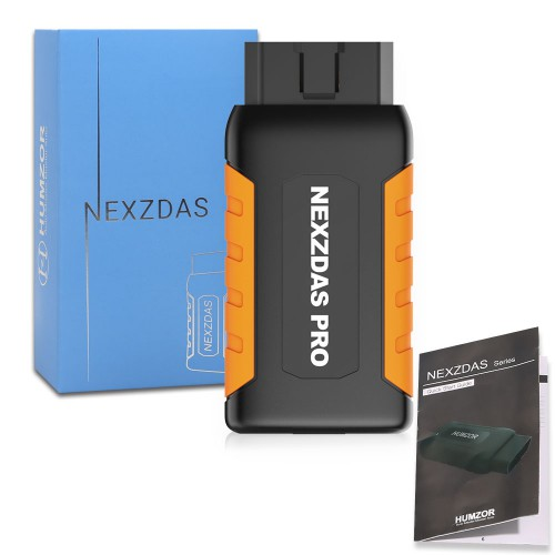 (6% Off €138.18)[UK Ship]Humzor NexzDAS Pro Full-system Bluetooth Auto Diagnostic Tool OBD2 Scanner Car Code Reader with Special Functions