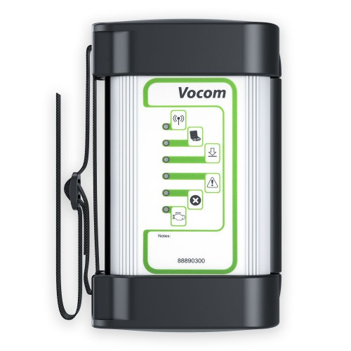 (6% Off €384.46)[UK Ship]Vocom 88890300 Interface for Volvo Renault UD Mack Truck Diagnose Win7 with Square Adapter