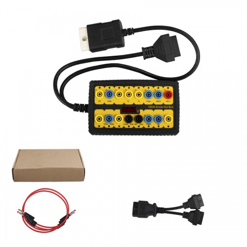 OBDII Protocol Detector and Break Out Box free ship