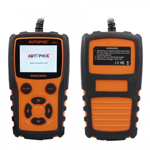 AUTOPHIX ES910 Car OBD Diagnostic Scanner Repair Tool for BMW MINI Engine ABS Airbag Gearbox