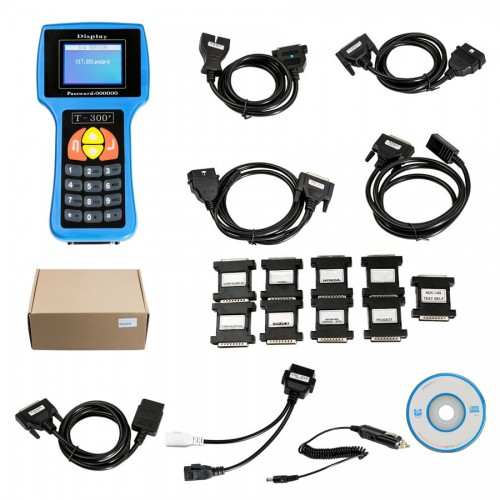 Newest Update V2017.17.8 T300 Key Programmer Blue English Version