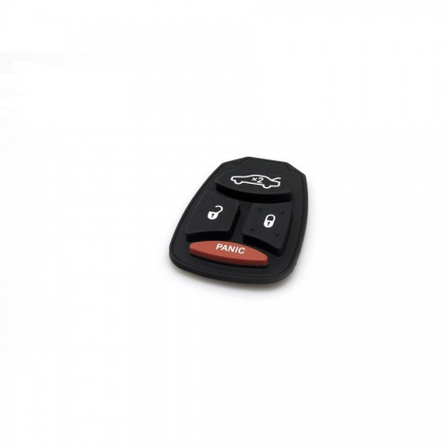 Remote Key Rubber (Big Button) For Chrysler 4 Button 10pcs/lot
