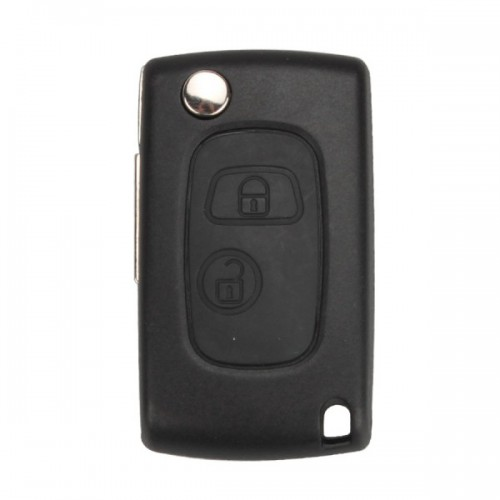 Modified Flip Romote Key Shell 2 Button VA31 for Citroen 5pcs/lot