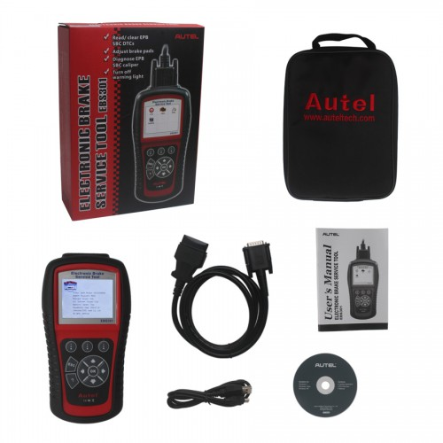 Autel EBS301 Electric Brake Service Tool with TF Memory Card Update online lifetime for free