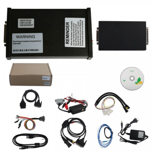 Best Quality V2.35 Kess V2 Firmware V4.036 Master Version ECU Programmer with Unlimited Tokens(with Renew Button)