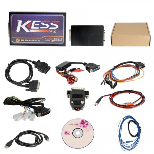 V2.37 KESS V2 Firmware V4.036 Unlimited Token Version (Plastic shell)