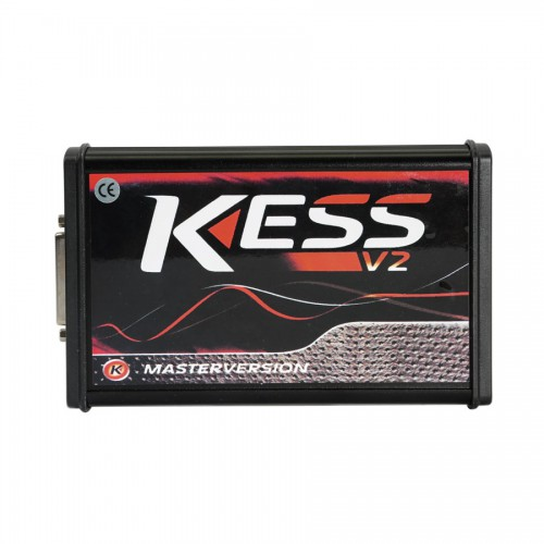V2.47 Kess V5.017 EU Version with Red PCB New Add Buzzer Support Online Add 140+ Protocol No Token Limited