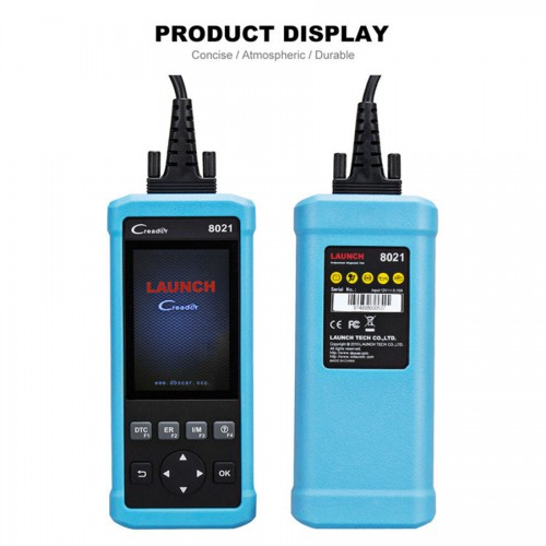 Launch CReader 8021 DIY Scanner Full OBD2 diagnostic Scanner OBD+ABS+SRS+Oil+EPB+BMS+SAS