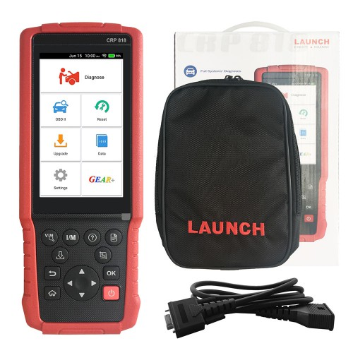 Launch CRP818 Passenger Vehicle Diagnostic Tool Europe Configuration