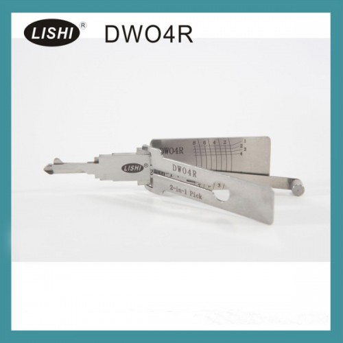 LISHI Buick (LOVA/Excelle/GL8) Chevy DWO4R 2-in-1 Auto Pick and Decoder