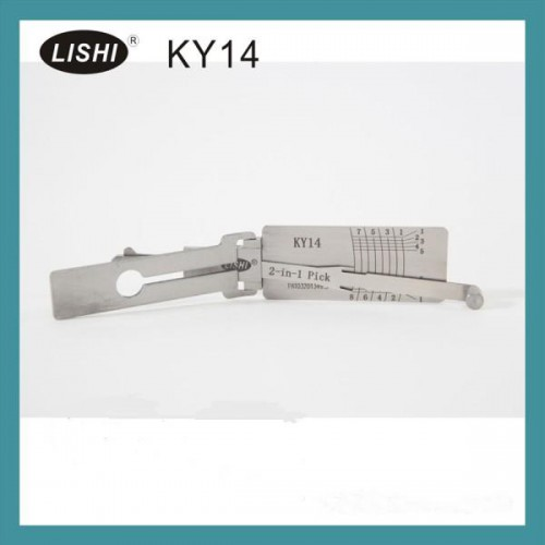 LISHI KY14 2-in-1 Auto Pick and Decoder For HYUNDAI KIA