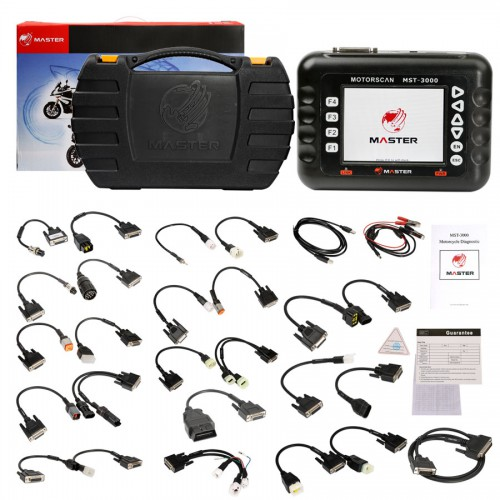 Master MST-3000 Motorcycle Diagnostic Scanner MotorBike Electronic Diagnostic Tool