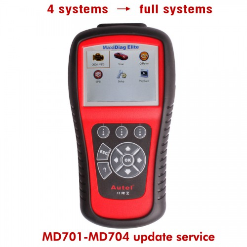 Update Service for 4 Systems to Full Systems MD701/MD702/MD703/MD704