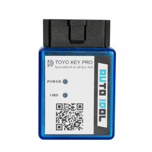 New TOYO KEY PRO OBD II Specialized in Toyota All Key Lost Support 40/80/128 BIT (4D, 4D-G, 4D-H)