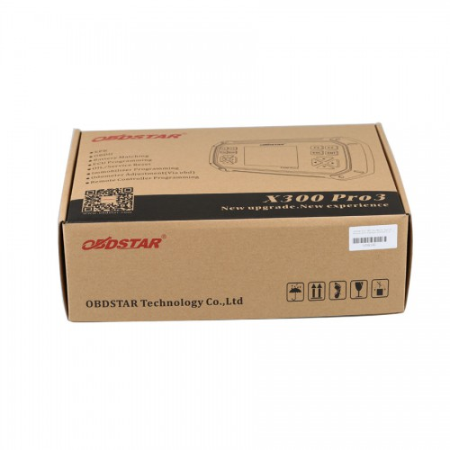 (UK Ship No Tax)OBDSTAR X300 PRO3 Key Master Standard Package Support Toyota G & H Chip All Key Lost