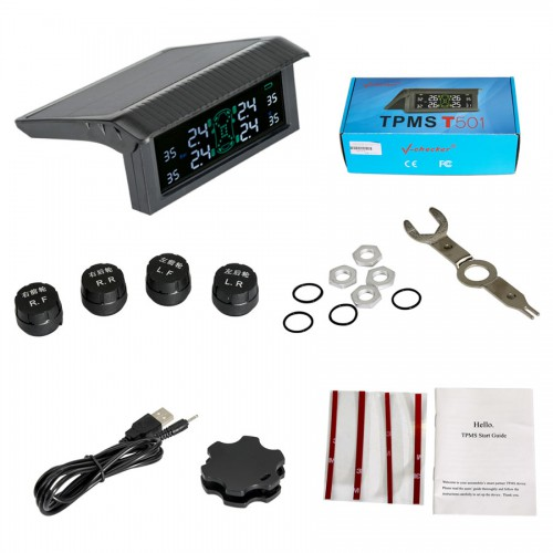 V-checker T501 TPMS Tire Pressure Monitoring System Tire External Sensor