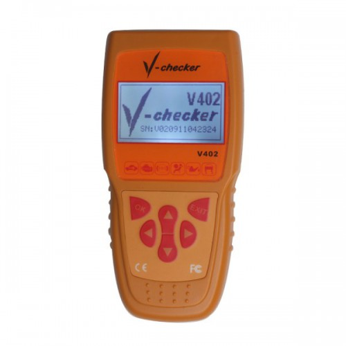 V-CHECKER VCHECKER V402 VAG Oil Reset Tool Support UDS Protocols