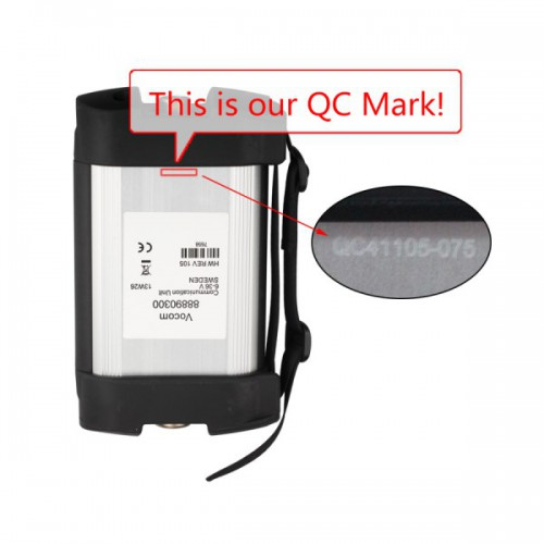 (3.28 Promotion)(UK Ship No Tax)Vocom 88890300 Interface for Volvo Renault UD Mack Truck Diagnose Win7 with Square Adapter