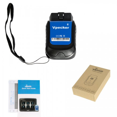 [11.11 Sales](UK Ship No Tax)V4.7 VPECKER E4 Android Mobile Phone Diagnostic Tool Perfect As Launch Easydiag X431 IcarScan