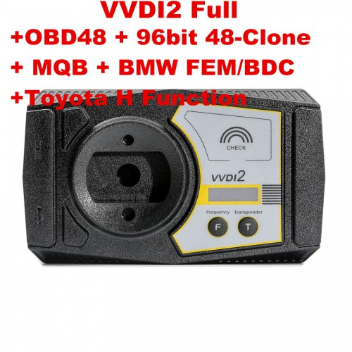 (Flash Sales)VVDI2 Full Version with OBD48 + 96bit 48-Clone + MQB + BMW FEM/BDC +Toyota H Software Activation