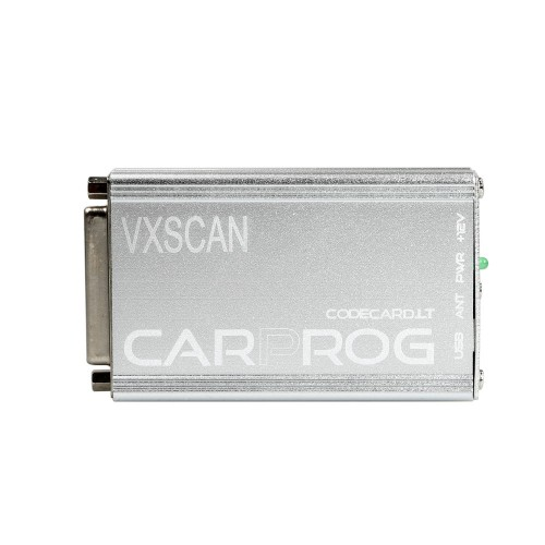 (6% Off 56.39)[UK Ship]VXSCAN Carprog Full V8.21 Firmware Perfect Online Version SW V10.93 with All 21 Adapters Including Much More Authorization