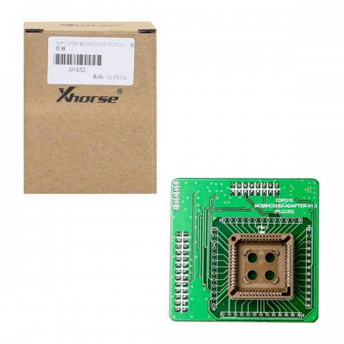 XHORSE XDPG15CH MC68HC05BX(PLCC52) Adapter for VVDI Prog