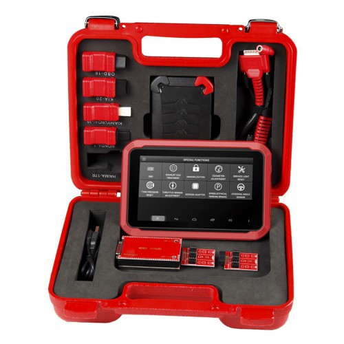 (UK Ship No Tax)XTOOL X-100 X100 PAD Tablet Key Programmer with EEPROM Adapter Support Special Functions and Bluetooth Connection