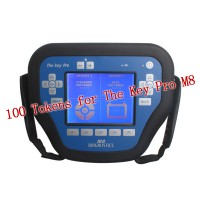 100 Tokens for The Key Pro M8 Auto Key Programmer Get 200 Tokens for free(total 300 Tokens) Recharge Online