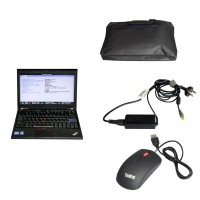 Second Hand Laptop Lenovo X220 I5 CPU 1.8GHz WIFI With 4GB Memory Compatible with BENZ/Porsche/ODIS Sofware HDD