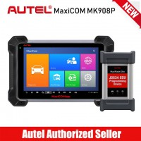 Autel MaxiCOM MK908P Full System Diagnostic Tool with ECU Coding and J2534 ECU Programming PK MaxiSys Pro Elite MS908P DHL Free Shipping
