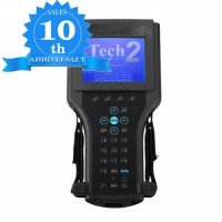 (10th Anni Sales)(UK Ship No Tax)Tech2 Hand-held Diagnostic Scanner For GM/SAAB/Opel/Suzuki/Isuzu/Holden with TIS2000 Software Full Package