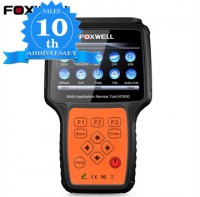 (10th Anni Sales)(UK Ship)Foxwell NT650 OBD2 Automotive Scanner ABS Airbag SAS EPB DPF Oil Service Reset OBD 2 ODB2 Car Diagnostic Tool obd2 Scanner