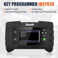 Original AUTEK IKEY820 Universal OBD Car Key Programmer No Need Soldering Support All Key Lost