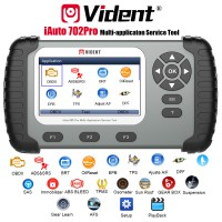 (UK Ship)VIDENT iAuto 702 Pro Multi-applicaton Service Tool Support ABS/SRS/EPB/DPF 3 Years Free Update Online