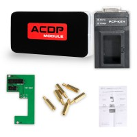 Yanhua Mini ACDP V-A-G MQB/MMC Odometer Correction Module 6 Newly Add PCF-key Adapter