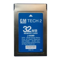Newest Update 32MB PC Card for GM Tech2(GM,OPEL,SAAB,ISUZU,SUZUKI,Holden)