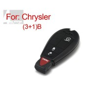 Smart Key Shell 3+1 Button for Chrysler 5pcs/lot