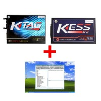 2.13V Ktag Master V6.070 Plus V2.37 Kess V2 Unlimited Token ECU Programmer with Professional DPF+EGR Remover 3.0
