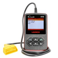 Launch DIY Scanner CReader 419 OBDII/EOBD Auto Diagnostic Scan Tool Code Reader Same as Launch DIY CReader 4001