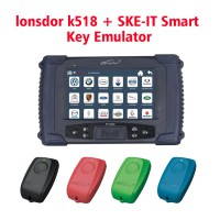 (UK Ship No Tax)Lonsdor K518ISE Key Programmer Plus SKE-IT Smart Key Emulator 4 In 1 Set